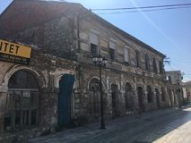 Vecchia città Fotografia Stock
