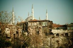 Vecchia città Fotografia Stock Libera da Diritti