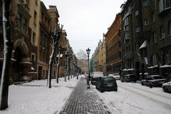 Vecchia città. Fotografie Stock