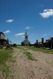 Vecchia città ad ovest Fotografia Stock