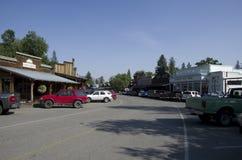 Vecchia città ad ovest americana Fotografie Stock