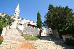 Vecchia città adriatica 1 Immagine Stock