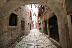 Vecchia città adriatica 12 Fotografia Stock Libera da Diritti
