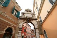 Vecchia città adriatica 13 Immagini Stock Libere da Diritti