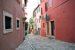 Vecchia città adriatica 2 Immagine Stock Libera da Diritti