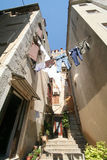 Vecchia città adriatica 5 Fotografia Stock
