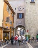 Vecchia città Annecy Immagini Stock Libere da Diritti