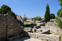 Vecchia città Antivari Fotografia Stock Libera da Diritti