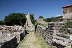 Vecchia città Antivari Immagini Stock