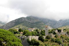 Vecchia città Antivari Immagine Stock