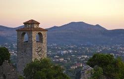 Vecchia città in Antivari, Montenegro Fotografie Stock