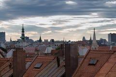 Vecchia città a Bratislava, Slovacchia Immagine Stock