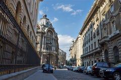 Vecchia città (Bucarest, Romania) Fotografia Stock