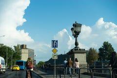 Vecchia città Budapest Ungheria Fotografie Stock Libere da Diritti