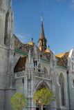 Vecchia città Budapest Ungheria Fotografie Stock