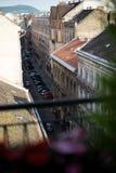 Vecchia città Budapest Ungheria Fotografia Stock Libera da Diritti