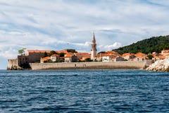 Vecchia città, Budua, Montenegro Immagini Stock Libere da Diritti