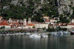 Vecchia città Cattaro Montenegro Immagini Stock