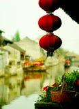 Vecchia città cinese Fotografia Stock Libera da Diritti