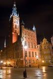 Vecchia città a Danzica Fotografie Stock