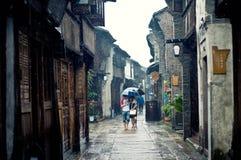 Vecchia città della Cina Fotografia Stock Libera da Diritti