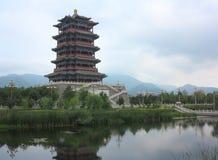 Vecchia città della Cina, Pechino Fotografia Stock Libera da Diritti