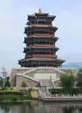 Vecchia città della Cina, Pechino Fotografie Stock Libere da Diritti