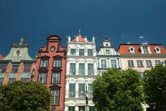 Vecchia città della città di Danzica Immagine Stock Libera da Diritti