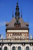 Vecchia città della Polonia Danzica - particolare del mercato lungo Immagini Stock Libere da Diritti