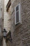 Vecchia città della spaccatura, Croazia Immagine Stock