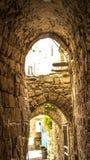 Vecchia città di Akko San Giovanni d'Acri Fotografie Stock Libere da Diritti