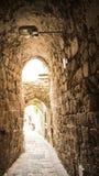 Vecchia città di Akko San Giovanni d'Acri Fotografia Stock