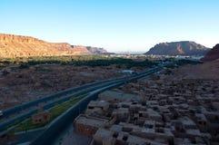 Vecchia città di Al-Ula Fotografia Stock