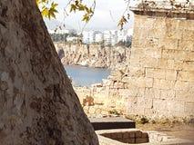 Vecchia città di Antalya Fotografia Stock Libera da Diritti