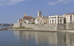 Vecchia città di Antibes in Francia Immagine Stock