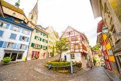 Vecchia città di Baden in Svizzera immagine stock libera da diritti