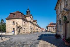 Vecchia città di Bayreuth Fotografia Stock Libera da Diritti