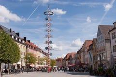 Vecchia città di Bayreuth Immagine Stock Libera da Diritti
