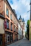 Vecchia città di Bayreuth Fotografie Stock Libere da Diritti