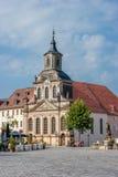 Vecchia città di Bayreuth Fotografie Stock
