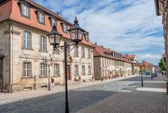 Vecchia città di Bayreuth Fotografia Stock