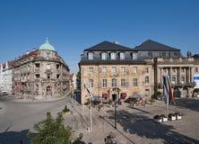 Vecchia città di Bayreuth - teatro dell'opera Immagine Stock Libera da Diritti