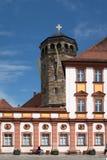 Vecchia città di Bayreuth - vecchio castello Immagini Stock Libere da Diritti