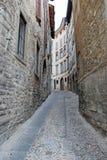 Vecchia città di Bergamo Fotografia Stock Libera da Diritti
