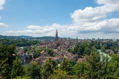 Vecchia città di Berna, Suisse Immagine Stock Libera da Diritti