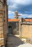 Vecchia città di Blato immagini stock libere da diritti