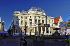 Vecchia città di Bratyslava, Repubblica Slovacca Fotografie Stock