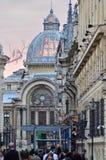 Vecchia città di Bucarest Fotografie Stock