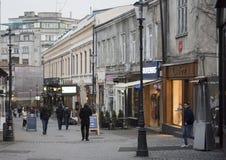 Vecchia città di Bucarest Immagine Stock Libera da Diritti