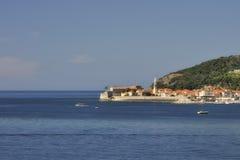 Vecchia città di Budva, Montenegro Fotografia Stock